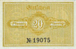 Germany, 20 Pfennig, K13.1b