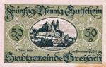 Germany, 50 Pfennig, B84.11