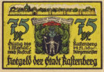 Germany, 75 Pfennig, 1097.2