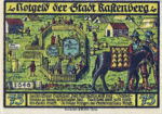 Germany, 75 Pfennig, 1097.2