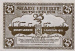 Germany, 25 Pfennig, L30.1c