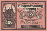 Germany, 25 Pfennig, S124.5c