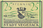 Germany, 25 Pfennig, 1359.2