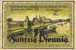Germany, 50 Pfennig, 1456.1