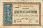 Germany, 5,000,000 Mark,