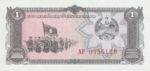 Laos, 1 Kip, P-0025a v1,B501a