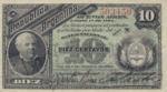 Argentina, 10 Centavo, P-0006 Sign.1