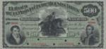 Argentina, 500 Peso Oro, S-0544s