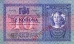 Austria, 10 Krone, P-0009s