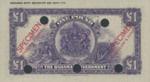Bahamas, 1 Pound, P-0007ct,BG B7t