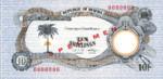 Biafra, 10 Shilling, P-0004s,BOB B4as