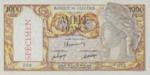 Algeria, 1,000 Franc, P-0104s