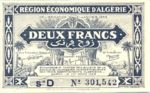 Algeria, 2 Franc, P-0099b D