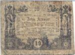 Austria, 10 Kreuzer, A-0093a