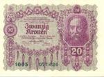 Austria, 20 Krone, P-0076
