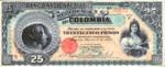Colombia, 25 Peso, P-0237