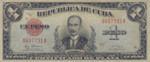 Cuba, 1 Peso, P-0069g,RDC B9