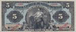 Dominican Republic, 5 Dollar, S-0153s