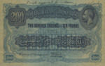 East Africa, 200 Shilling, P-0017ct