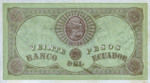 Ecuador, 20 Peso, S-0141D v1