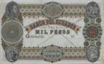 Ecuador, 1,000 Peso,