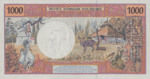 French Pacific Territories, 1,000 Franc, P-0002s,IEOM B2fs