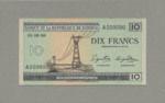 Katanga, 10 Franc, P-0002s
