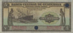 Guatemala, 5 Quetzal, P-0016ct,BCG B11t