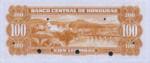 Honduras, 100 Lempira, P-0049s,BCH B5s