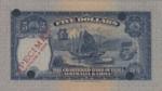 Hong Kong, 5 Dollar, P-0053ct