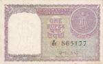 India, 1 Rupee, P-0074a