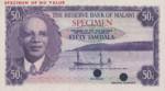 Malawi, 50 Tambala, P-0005ct,RBM B5t