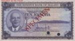 Malawi, 10 Kwacha, P-0008ct,RBM B8t