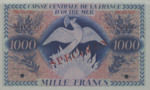 Martinique, 1,000 Franc, P-0026s