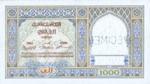 Morocco, 1,000 Franc, P-0016s