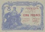 New Caledonia, 5 Franc, P-0015s