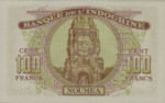 New Caledonia, 100 Franc, P-0046b