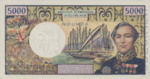 New Caledonia, 5,000 Franc, P-0065s,IEOM B6as