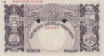 British Caribbean Territories, 2 Dollar, P-0008ct,CB B8t