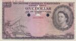 British Caribbean Territories, 1 Dollar, P-0007ct,CB B7t