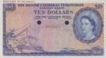 British Caribbean Territories, 10 Dollar, P-0010ct,CB B10t
