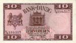 Danzig, 10 Gulden, P-0058