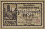 Danzig, 50,000 Mark, P-0019