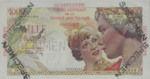 Guadeloupe, 1,000 Franc, P-0037s