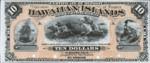 Hawaii, 10 Dollar, P-0001p