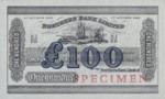 Ireland, Northern, 100 Pound, P-0186s