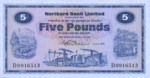 Ireland, Northern, 5 Pound, P-0188a