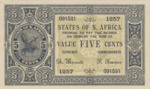 North Africa, 5 Cent,
