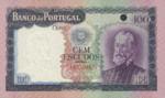 Portugal, 100 Escudo Ouro, P-0165s