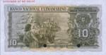 Portuguese India, 10 Rupee, P-0036ct
